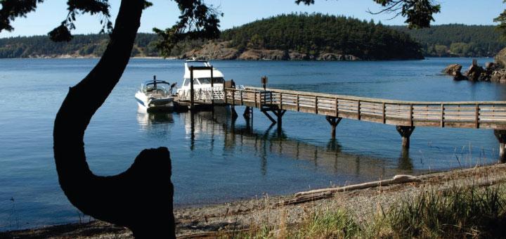 James Island State Park docks