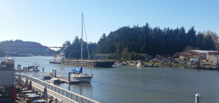 Barging on Swinomish