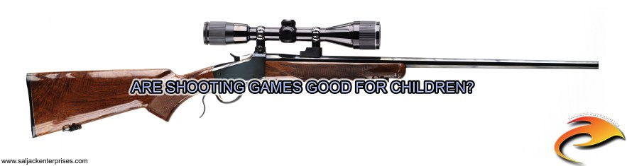 Are Shooting Games Good For Children? Presented by Saljack Enterprises. Gaming. Media & Entertainment.