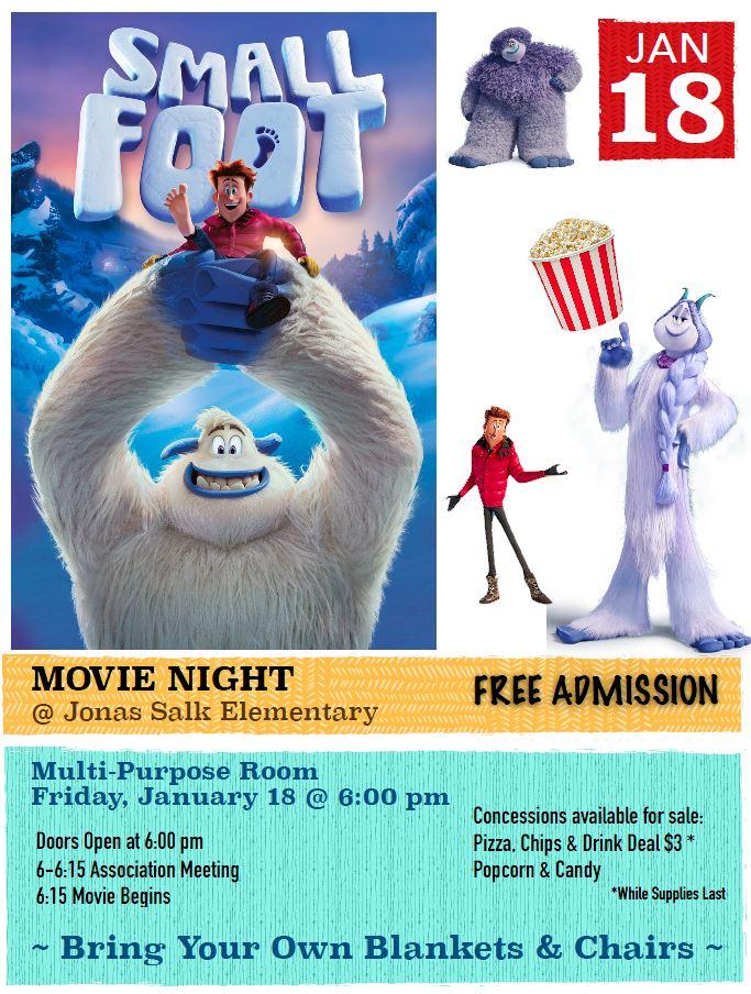 2018.01.18 - PTA Movie Night