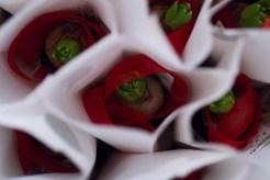Blomsterlandet gav mej även en fin julhyacint när jag gick hem. :)
