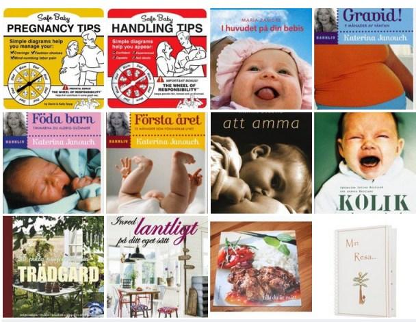 Blandade böcker, hör av er om intresse finns så skriver jag pris. :) Ligger mellan 30 - 100:- / per bok, beroende på bok.