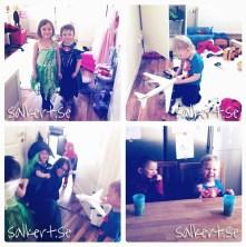 Lekdejt med fina Josephine och hennes barn Elika och Nick!