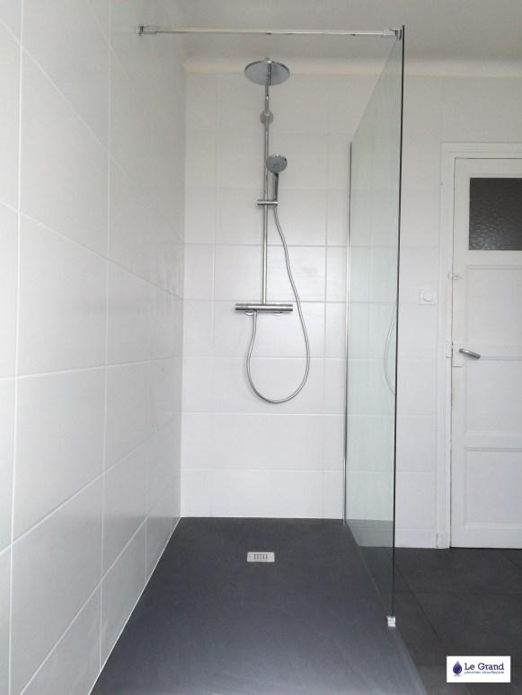 Le Grand Plombier Chauffagiste Rennes Bruz - Salle de bains - Plomberie - Agencement - Salle de Bains - Baignoire d'angle - Brest (5)