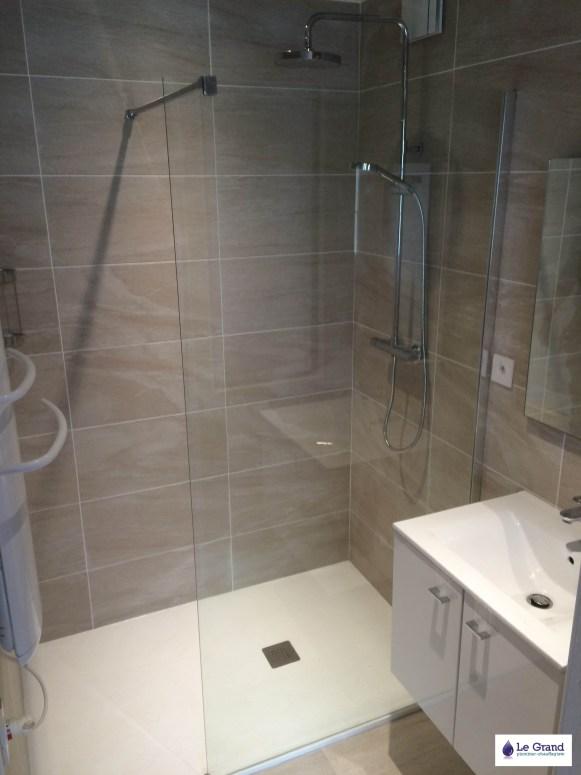 Le Grand Plombier Chauffagiste Rennes Bruz - Salle de bains Rennes - Plomberie - Agencement - Salle de Bains - St Hélier