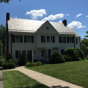 Wallace Stevens' Hartford Home