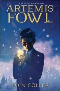Irish Authors - Artemis Fowl cover