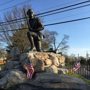 Minuteman statue - Westport, CT