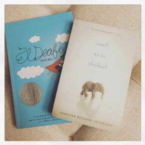Two paper books for Readathon