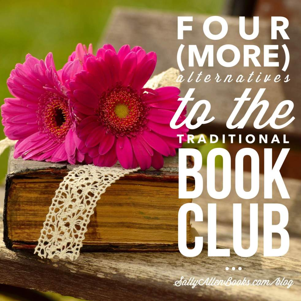 So many book clubs I've participated in might have survived if we'd had an alternative to reading a single book, especially when we didn't share the same taste in books or the same goals for our book discussions.