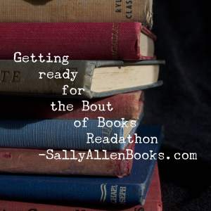 On the heels of a slow month (or two) of reading, I'm looking forward to this week's Bout of Books readathon.