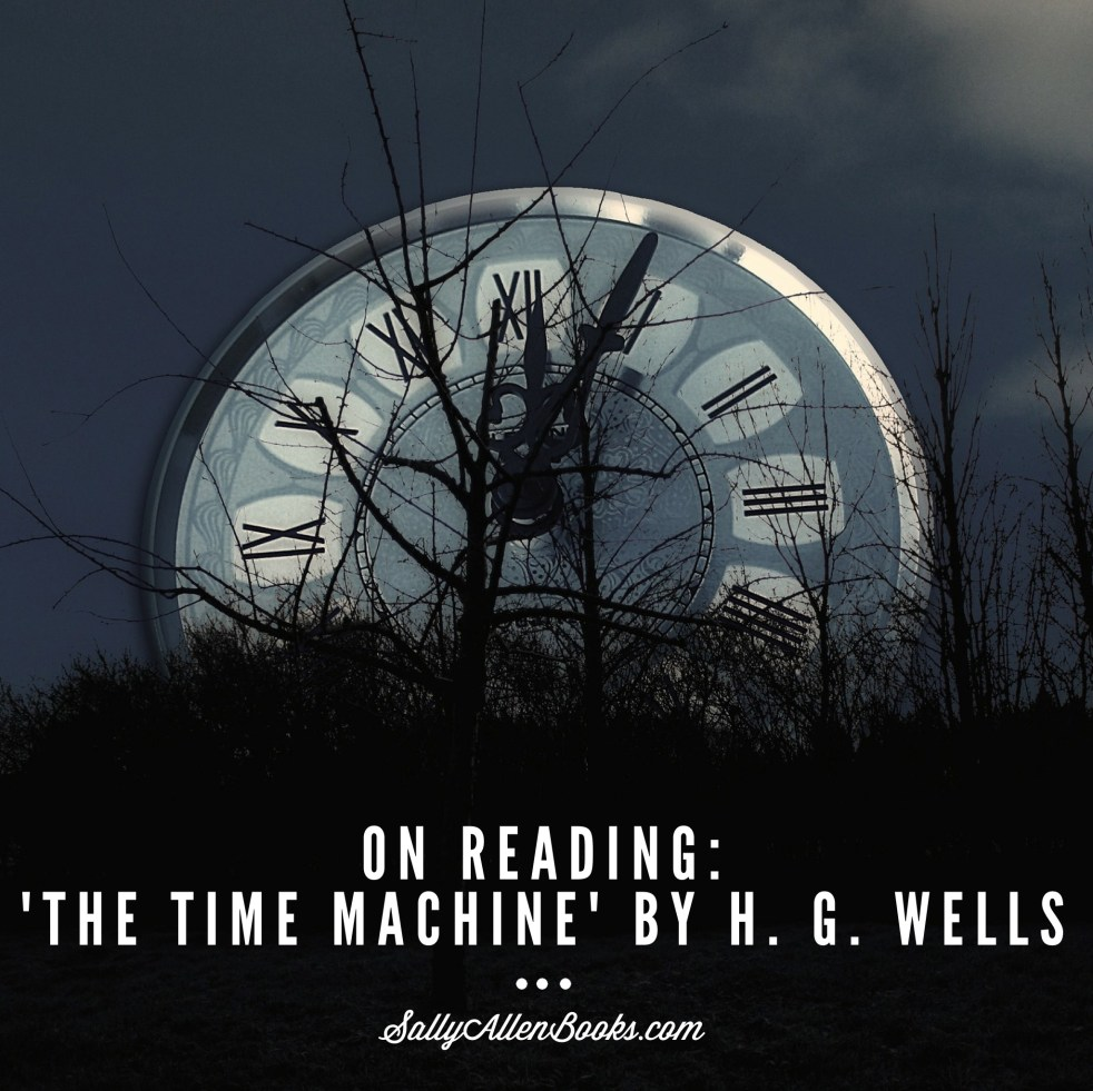 "Well's haunting story about a man who travels to the future spawned the term ""time machine"" and time travel novels as a genre."