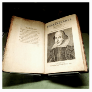 Shakespeare first folio on display at the Morgan Library