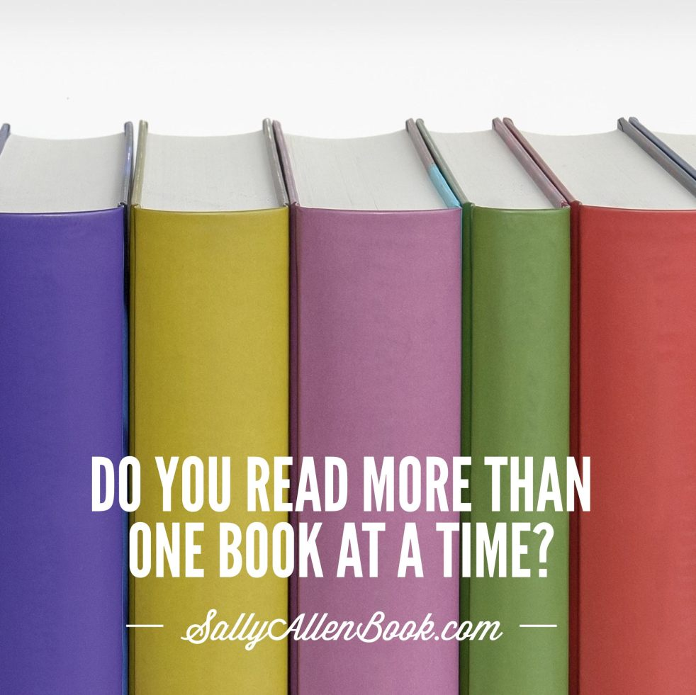 This week, I realized I cannot read two novels at the same time. Do you read more than one book at a time? How about multiple novels?