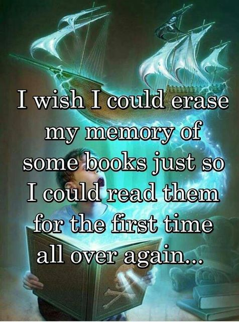 Would you want to erase your memories of books?