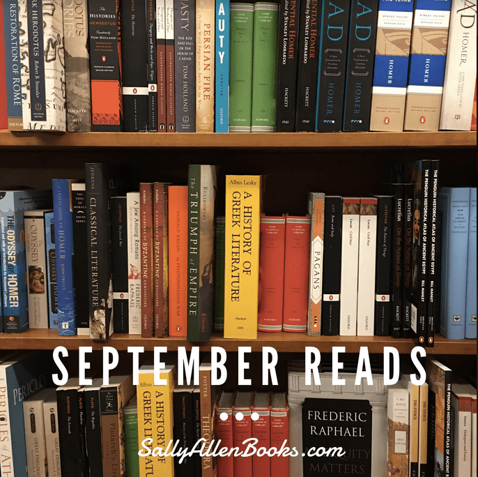 Overdue! My September Reads