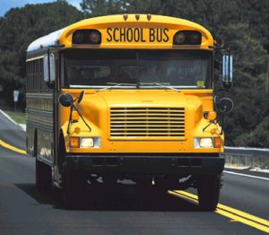 This is a photo of a yellow school bus.