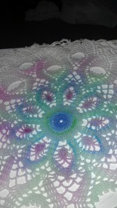 Photo of Painted Doily