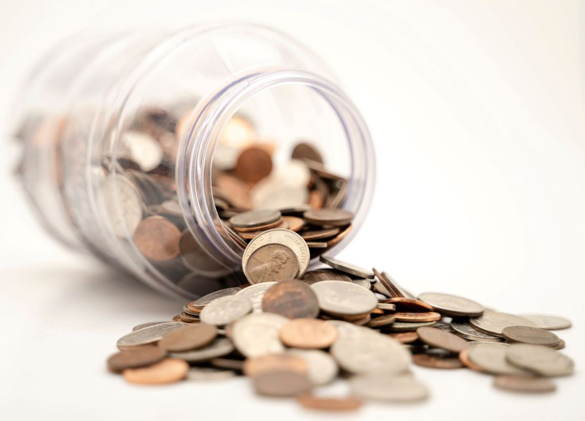 jar of coins Photo by Michael Longmire on Unsplash