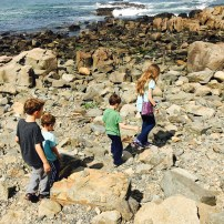 Adventuring along the Marginal Way in Ogunquit, ME