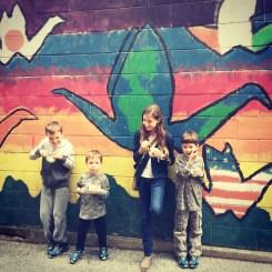 Columbus, Indiana street art