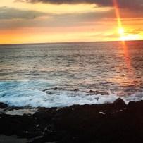 Sunset in Kona