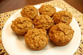 oatmeal carrot muffin
