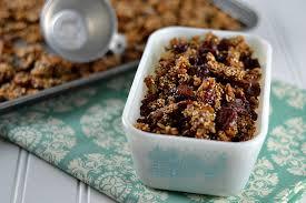 Quinoa Pumpkin Seed Granola
