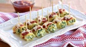 mimi spinach rollups