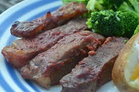 baked round steak in bbq sauce