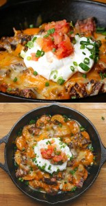 Steak & Potato Nachos
