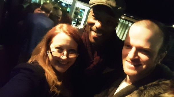 Sally McLean, Christopher Kirby and Billy Smedley at the Closing Night Gala Awards After Party