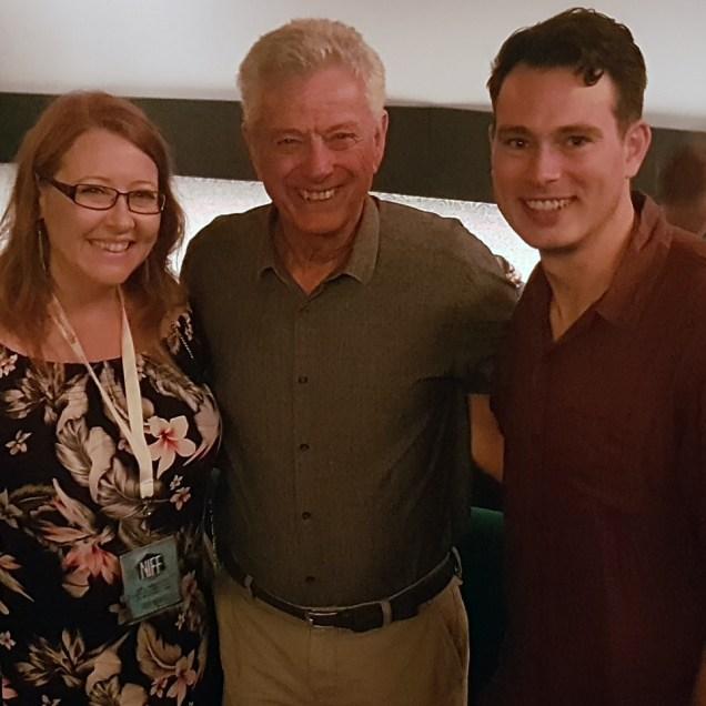 Sally McLean, John Seale and Shaun Herbertson at NIFF 2018