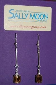 Victorian style long drop earrings