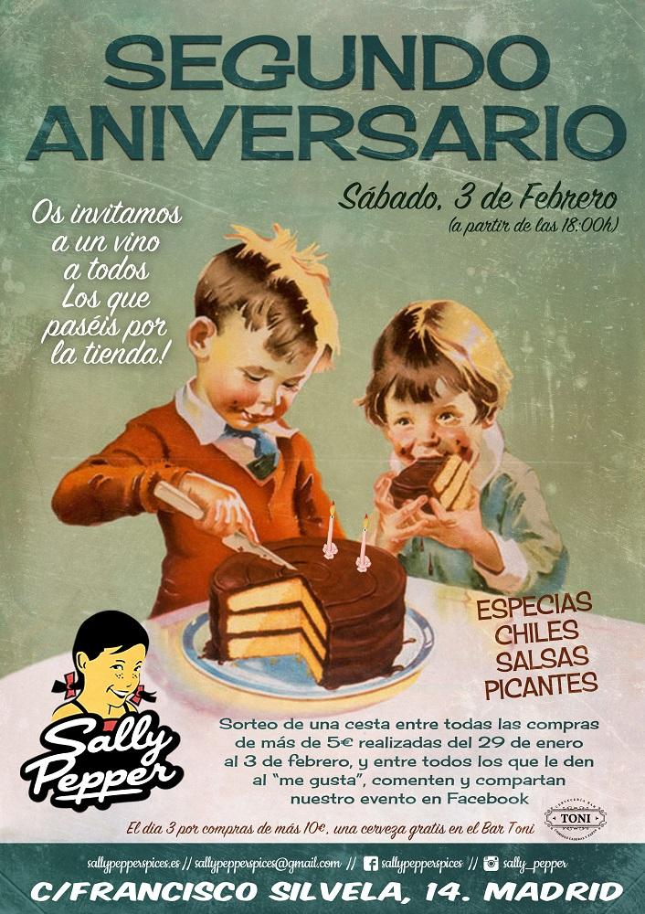 Sally Pepper-Spices-Tienda-Especias-Madrid-salsas picantes-chiles-cesta regalo-segundo aniversario-3 febrero-2017-Francisco Silvela 14-706 x 1000