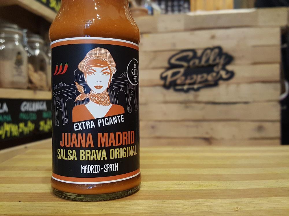 Sally Pepper-Spices-Tienda-Especias-salsas picantes-chiles-Madrid-Juana Madrid-salsa brava-original-extra picante-1000 x 700