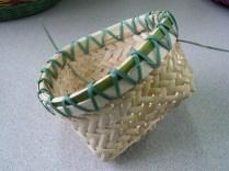 cane/lapping cane bias weave