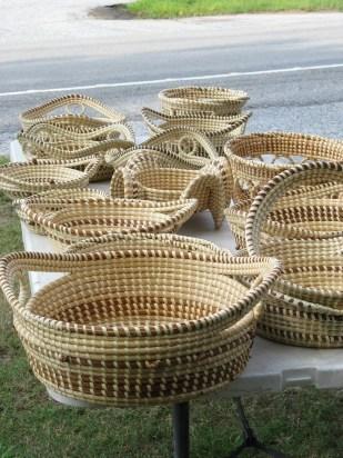 sweetgrass baskets - Henry Ford, basketmaker South Carolina
