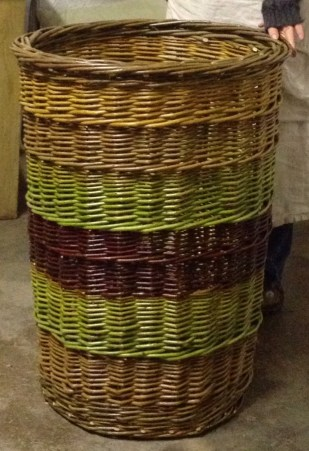 large willow laundry basket