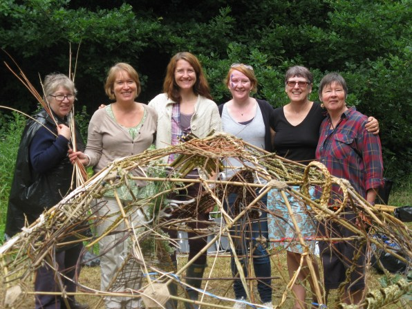 Basketry Collective members