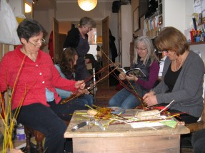 making willow decorations