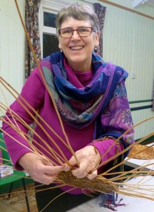 Sally Roach basketmaker