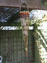 Willow bird feeder