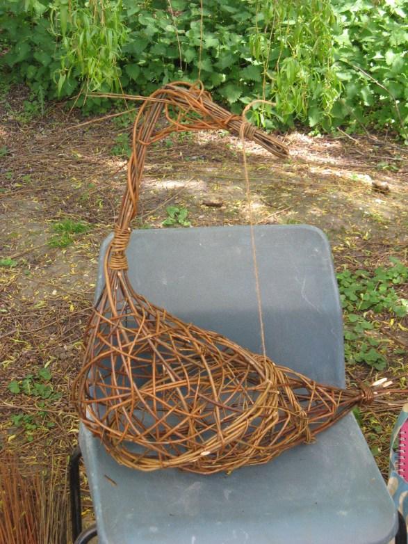 part woven willow bird