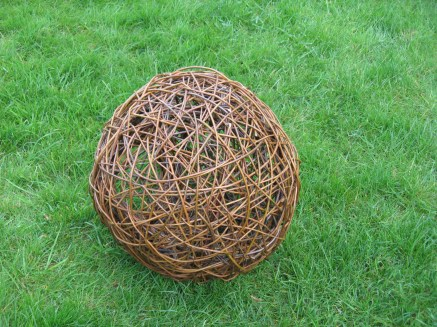 random weave willow vessel