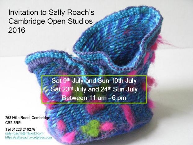 Sally Roach Open Studio 2016
