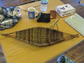 willow frame basket