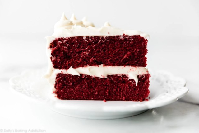 My Cream Cheese Frosting Recipe Is Delicately Sweet And Undeniably Creamy Red Velvet Cake