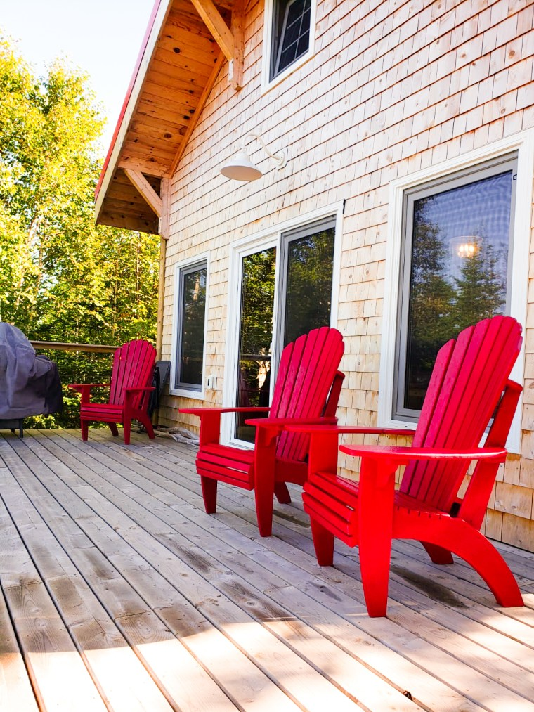 The Cookhouse Deck