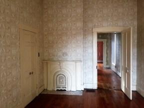 Master bedroom mantle (double doors to master bath)